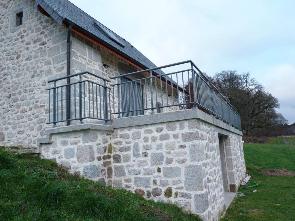 Bien connu garde corps rembarde, terrasses, bois, acier, aluminium ou composite LN55